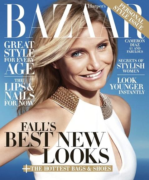 Harper's Bazaar Cover - 8/1/2014