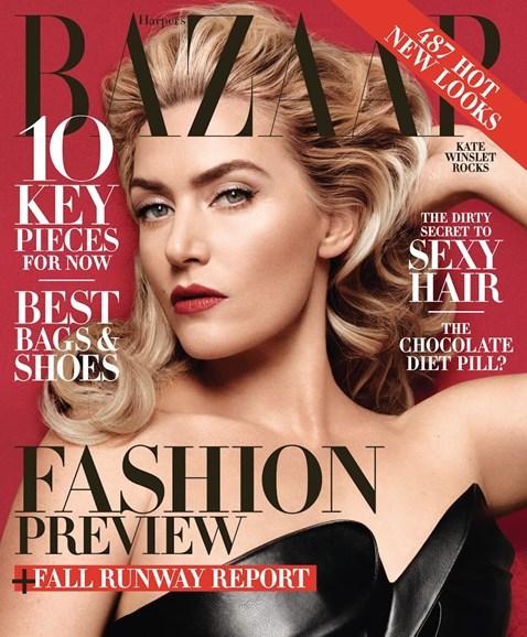 Harper's Bazaar Cover - 6/1/2014