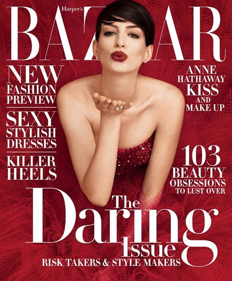 Harper's Bazaar Cover - 11/1/2014