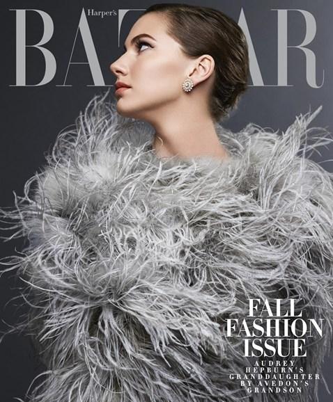 Harper's Bazaar Cover - 9/1/2014