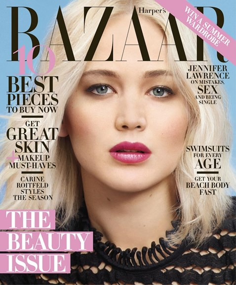 Harper's Bazaar Cover - 5/1/2016