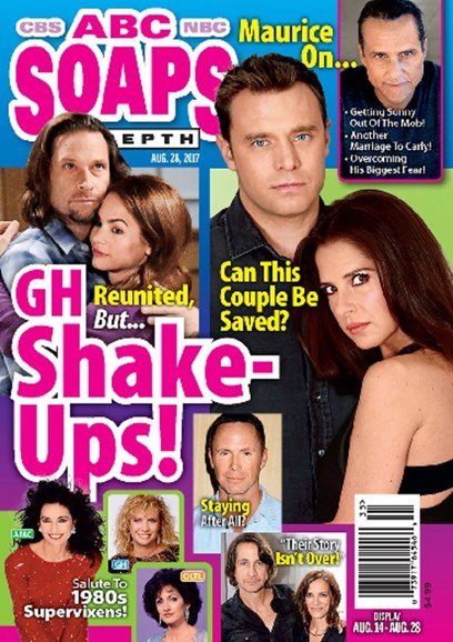 ABC Soaps In Depth Cover - 8/28/2017