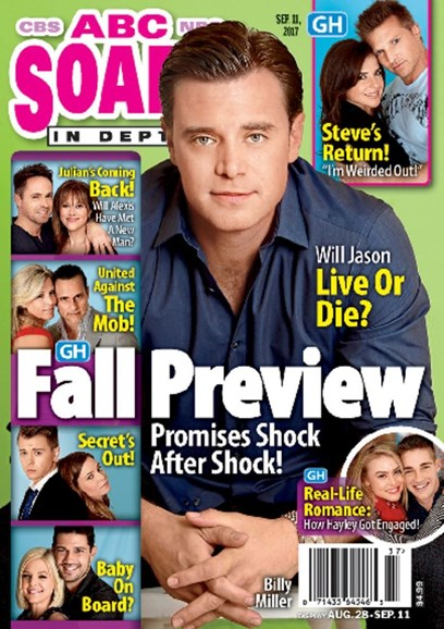 ABC Soaps In Depth Cover - 9/11/2017