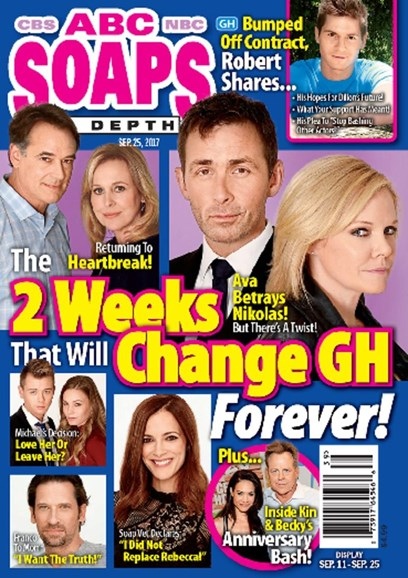 ABC Soaps In Depth Cover - 9/25/2017
