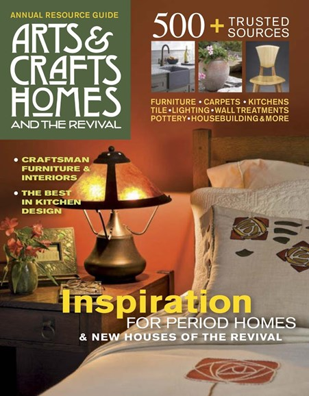 Arts & Crafts Homes Cover - 1/1/2017