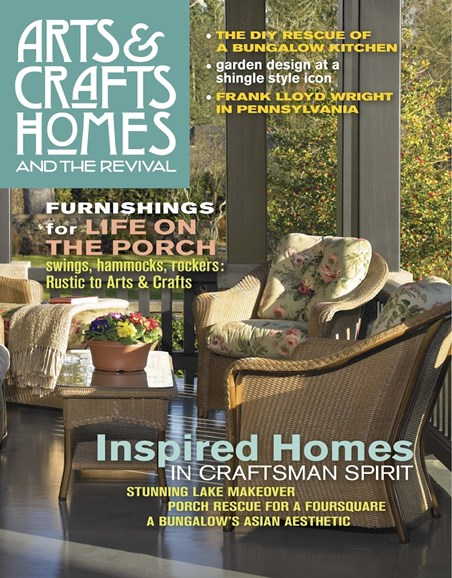 Arts & Crafts Homes Cover - 6/1/2017