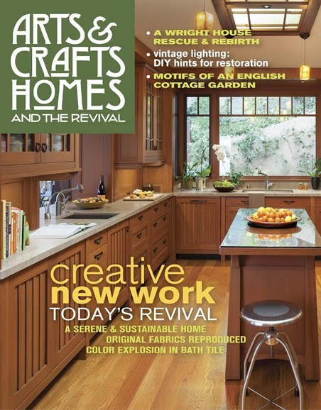 Arts & Crafts Homes Cover - 9/1/2017