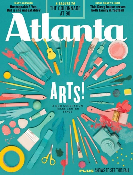 Atlanta Magazine Cover - 10/1/2017