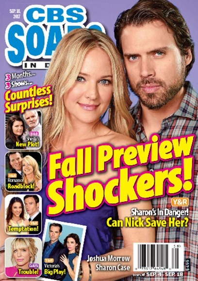 CBS Soaps In Depth Cover - 9/18/2017