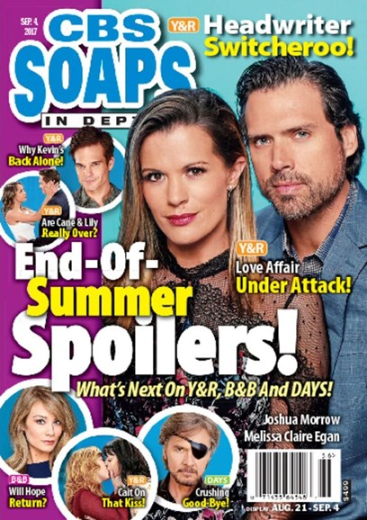 CBS Soaps In Depth Cover - 9/4/2017
