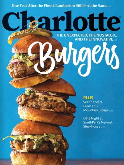 Charlotte Magazine Cover - 10/1/2017