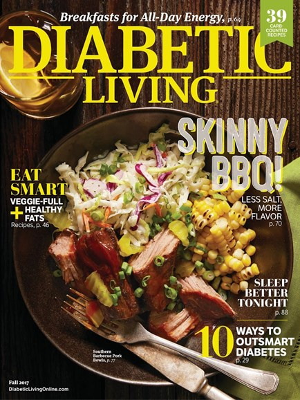 Diabetic Living Cover - 9/1/2017