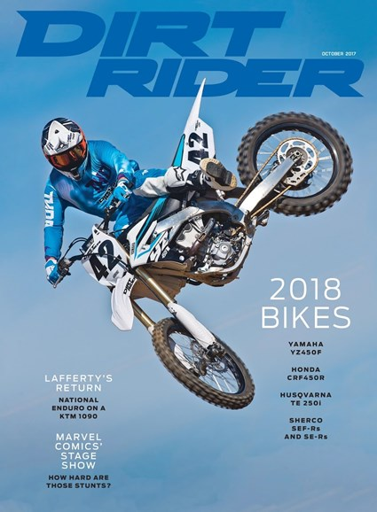 Dirt Rider Cover - 10/1/2017