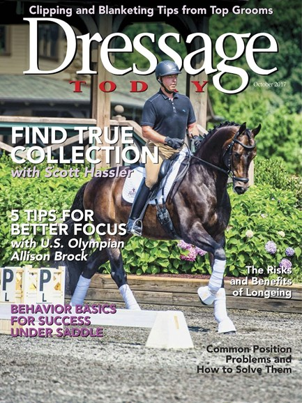 Dressage Today Cover - 10/1/2017