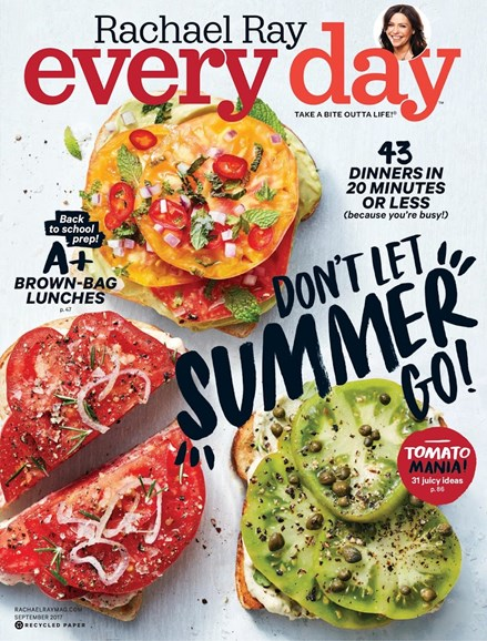 Rachael Ray Every Day Cover - 9/1/2017