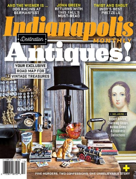 Indianapolis Monthly Cover - 10/1/2017
