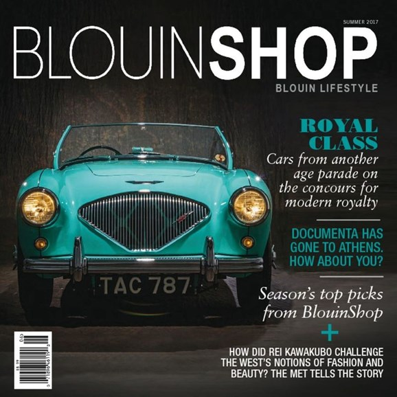 Blouin Lifestyle Cover - 6/1/2017