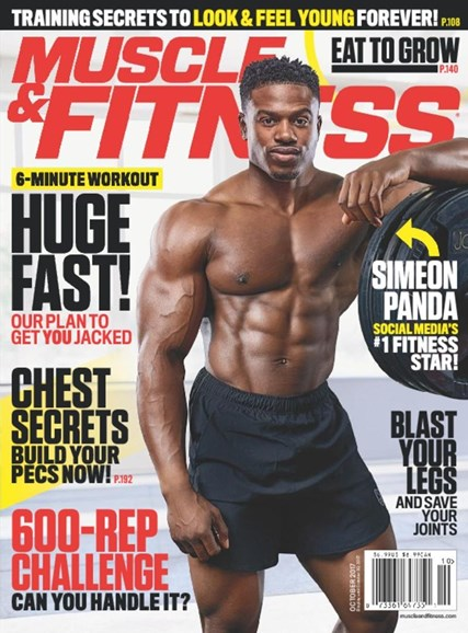Muscle & Fitness Cover - 10/1/2017