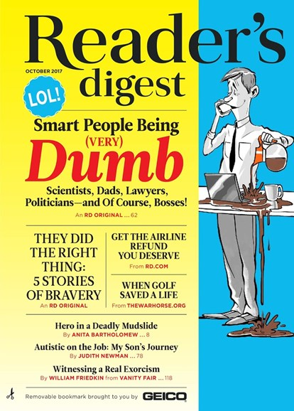 Reader's Digest Cover - 10/1/2017