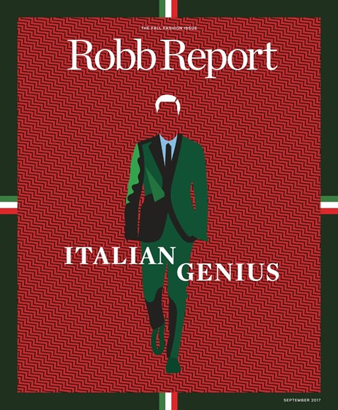 Robb Report Cover - 9/1/2017