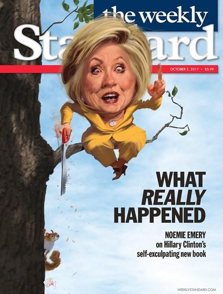 Washington Examiner Cover - 10/2/2017