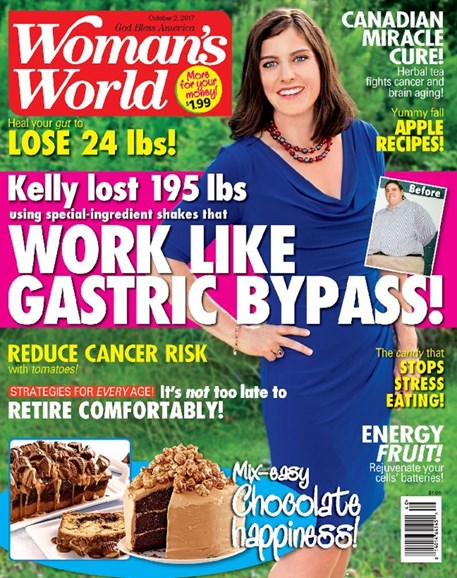 Woman's World Cover - 10/2/2017