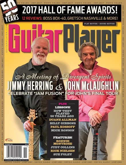 Guitar Player Cover - 11/1/2017