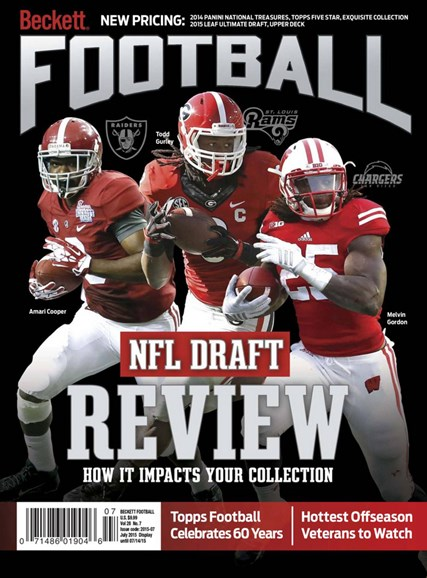 Beckett Football Cover - 7/1/2015