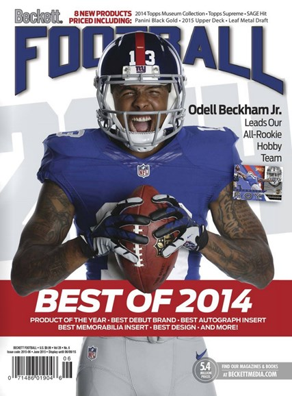 Beckett Football Cover - 6/1/2015