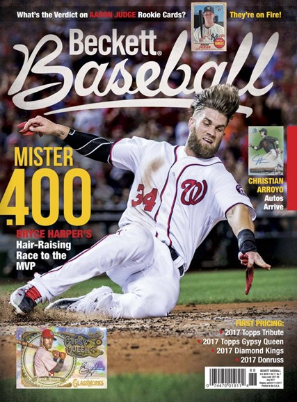 Beckett Baseball Cover - 7/1/2017