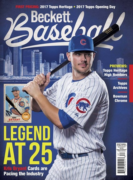 Beckett Baseball Cover - 6/1/2017