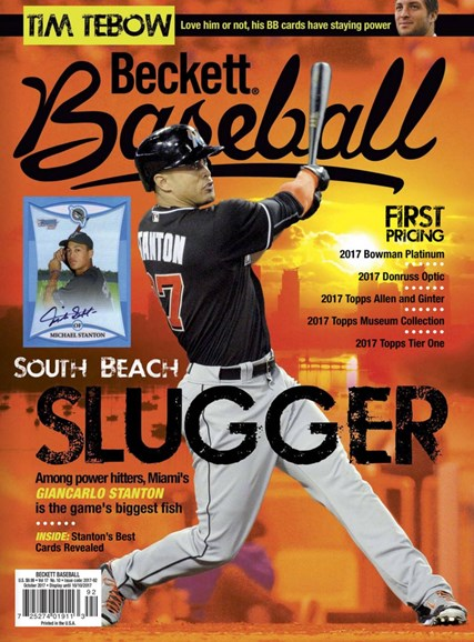 Beckett Baseball Cover - 10/1/2017