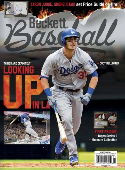 Beckett Baseball Cover - 9/1/2017