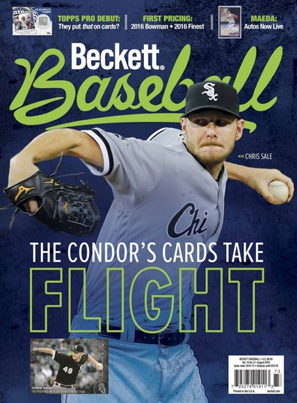 Beckett Baseball Cover - 8/1/2016