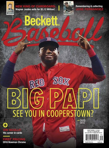 Beckett Baseball Cover - 12/1/2016
