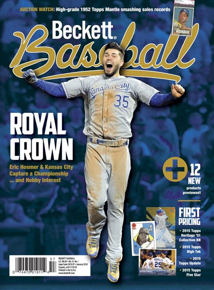 Beckett Baseball Cover - 1/1/2016