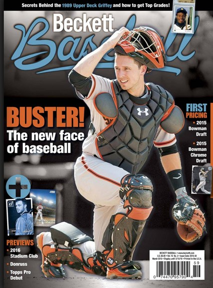 Beckett Baseball Cover - 3/1/2016