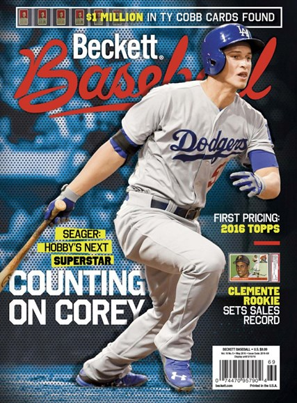 Beckett Baseball Cover - 5/1/2016