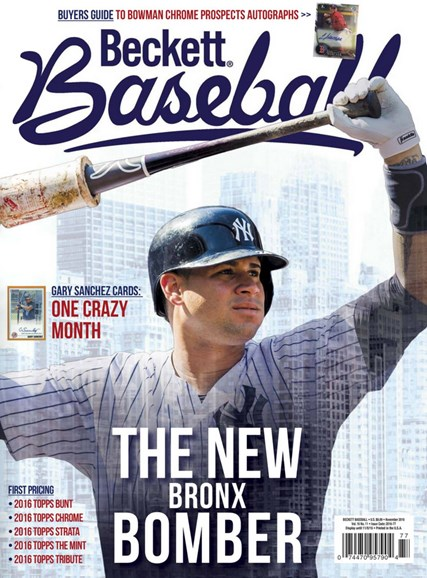 Beckett Baseball Cover - 11/1/2016