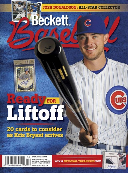 Beckett Baseball Cover - 6/1/2015