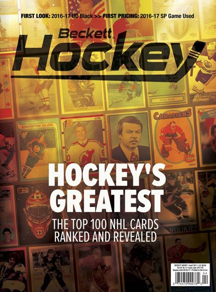 Beckett Hockey Cover - 4/1/2017