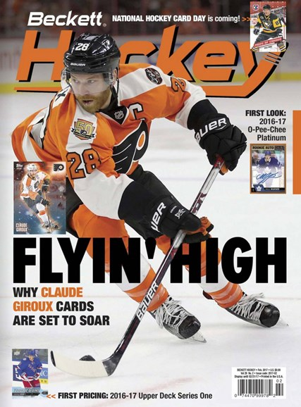 Beckett Hockey Cover - 2/1/2017