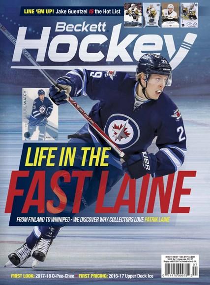Beckett Hockey Cover - 7/1/2017