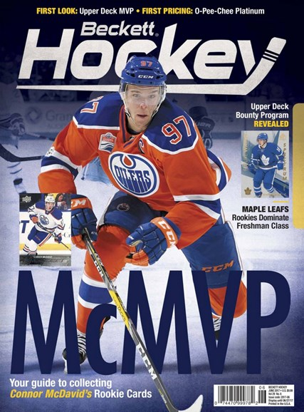 Beckett Hockey Cover - 6/1/2017