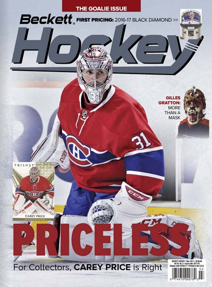 Beckett Hockey Cover - 3/1/2017