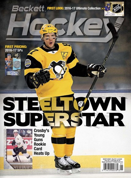 Beckett Hockey Cover - 5/1/2017