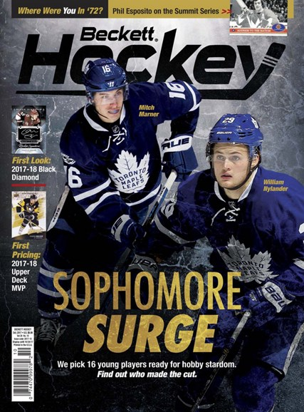 Beckett Hockey Cover - 10/1/2017
