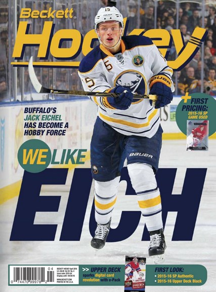 Beckett Hockey Cover - 4/1/2016