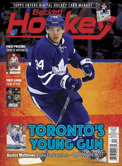 Beckett Hockey Cover - 12/1/2016