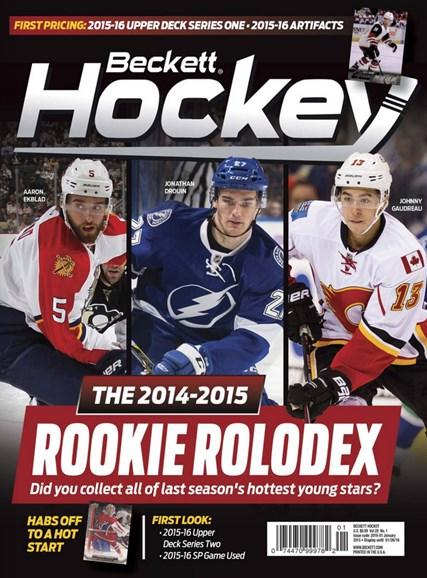 Beckett Hockey Cover - 1/1/2016